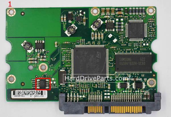 Seagate PCB Board 100387575