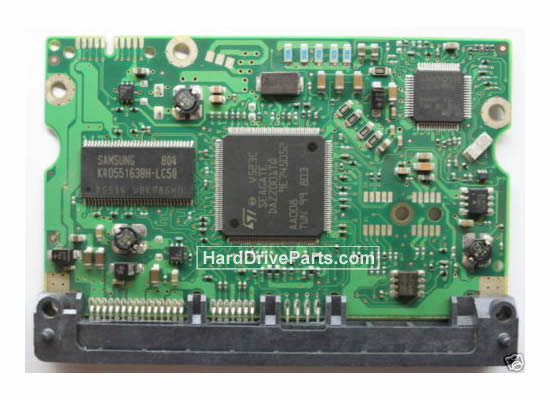 Seagate ST3500820AS Hard Drive PCB 100458675