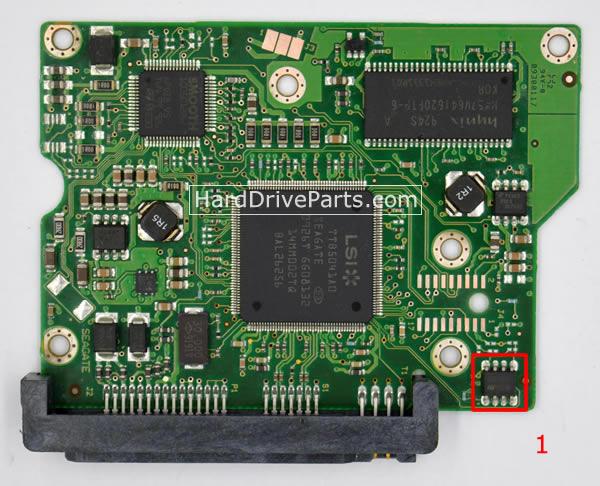 ST3250310CS Seagate PCB Circuit Board 100468303