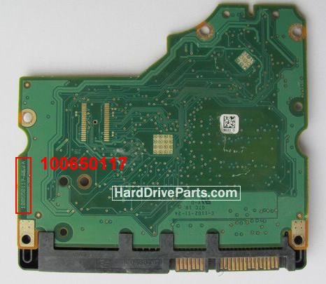 ST31000528AS Seagate PCB Circuit Board 100650117