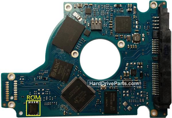 Seagate ST500LM000 Hard Drive PCB 100731589