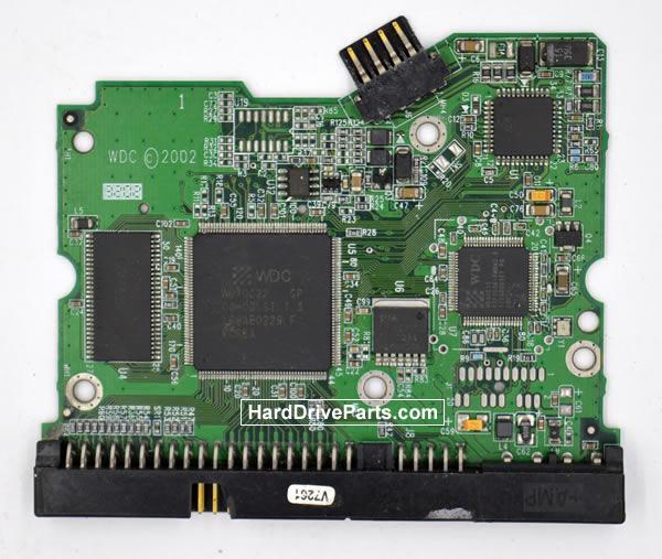 Western Digital WD1600BB HDD PCB 2060-001160-001