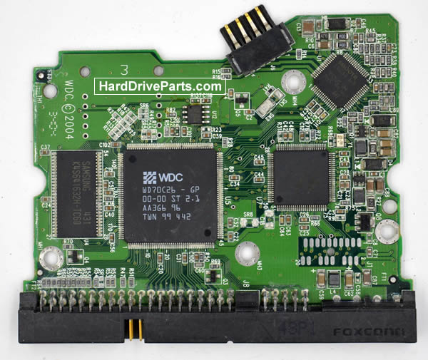 WesternDigital製HDDの回路基板2060-001265-001