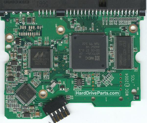 Western Digital PCB Board 2060-701266-001 REV A