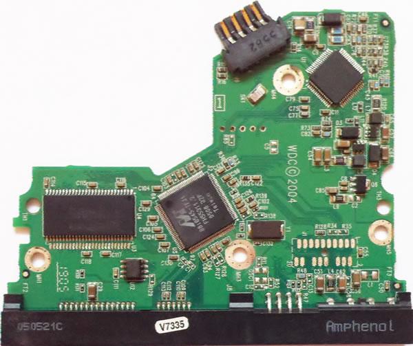 WesternDigital製HDDの回路基板2060-701335-005