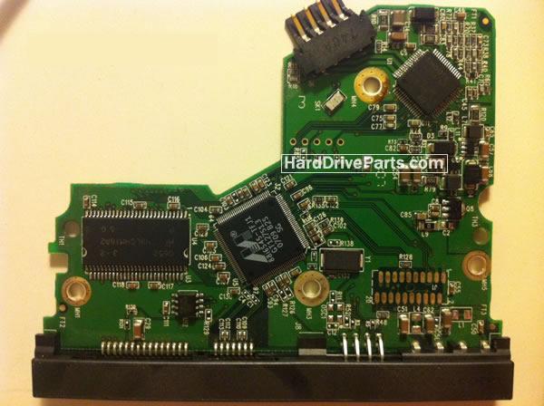 WesternDigital製HDDの回路基板2060-701393-002