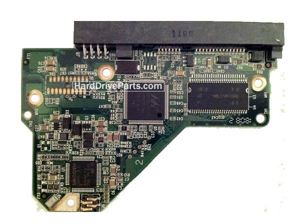 WesternDigital製HDDの回路基板2060-701444-003