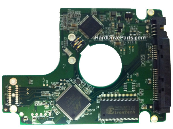 WesternDigital製HDDの回路基板2060-701499-005