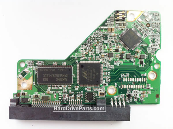 WD4000AAKB WD PCB Circuit Board 2060-701508-001