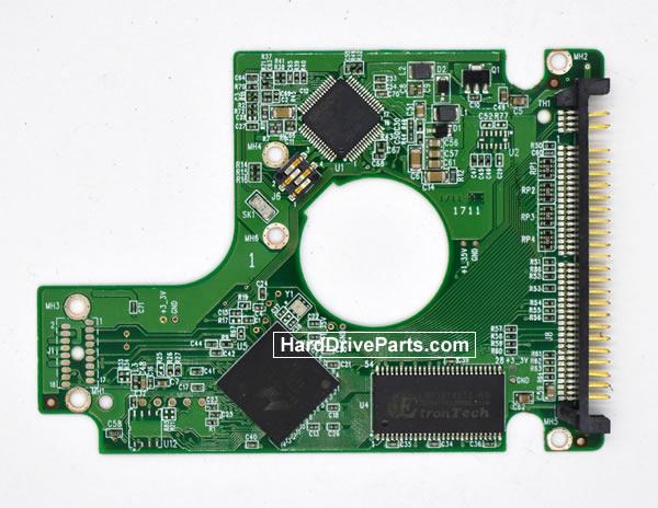 Western Digital WD1200BEVE HDD PCB 2060-701532-000