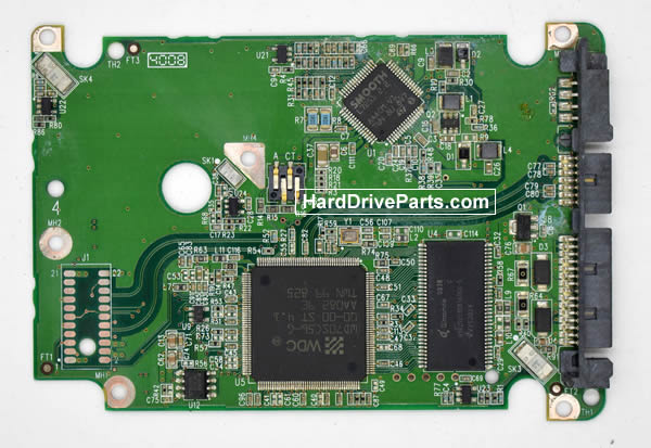 Western Digital HDD PCB 2060-701543-003