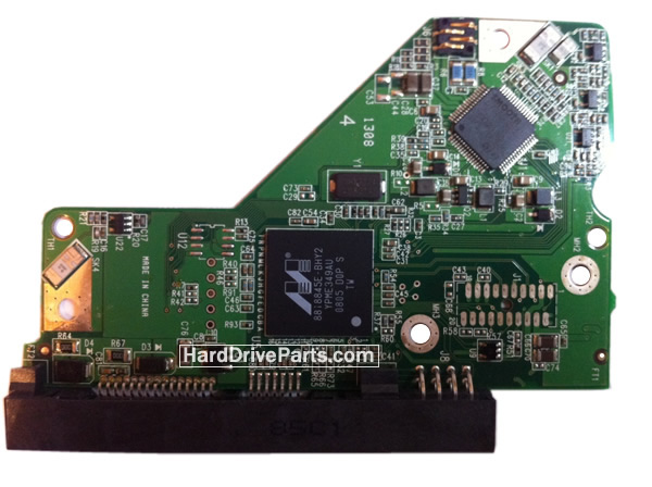 WD1002FBYS WD PCB Circuit Board 2060-701567-000