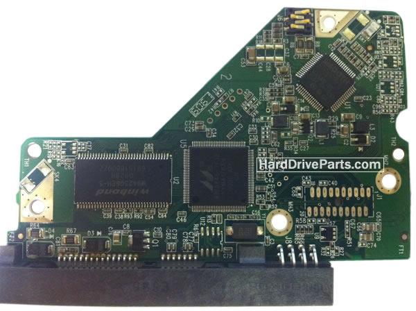 WesternDigital製HDDの回路基板2060-701615-003