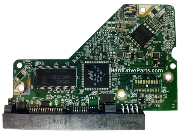 Western Digital PCB Board 2060-701640-000 REV P1