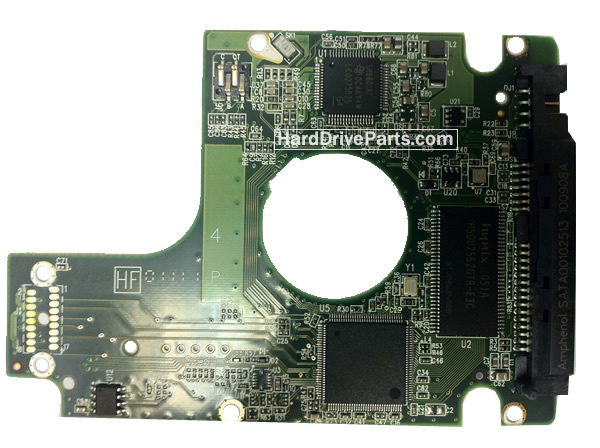 Western Digital PCB Board 2060-771629-006 REV P1