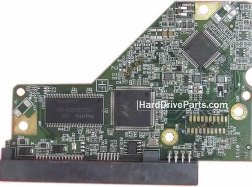 WD5000AAKS WD PCB Circuit Board 2060-771640-002