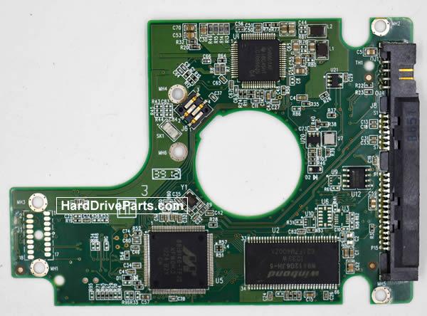 WesternDigital製HDDの回路基板2060-771692-006