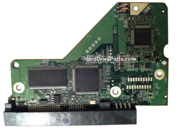 Western Digital PCB Board 2060-771698-002 REV A / P1 / P2