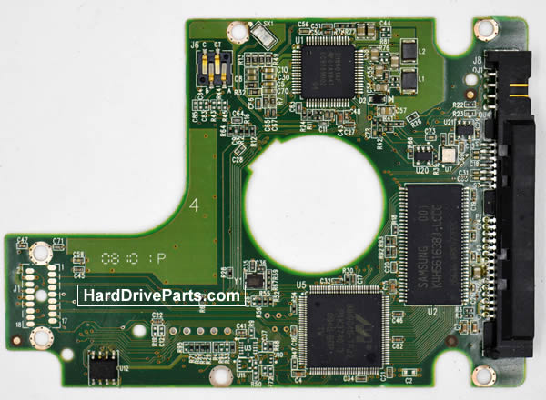 WesternDigital製HDDの回路基板2060-771714-000