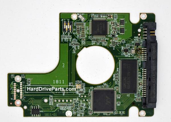 WesternDigital製HDDの回路基板2060-771714-002