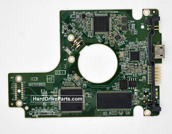 WesternDigital製HDDの回路基板2060-771817-001