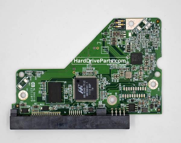 Western Digital WD5000AZRX HDD PCB 2060-771824-000