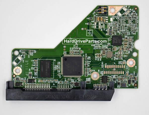 Western Digital WD5000AZXD HDD PCB 2060-771824-001