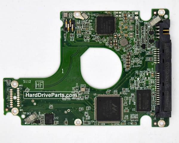WesternDigital製HDDの回路基板2060-771852-004