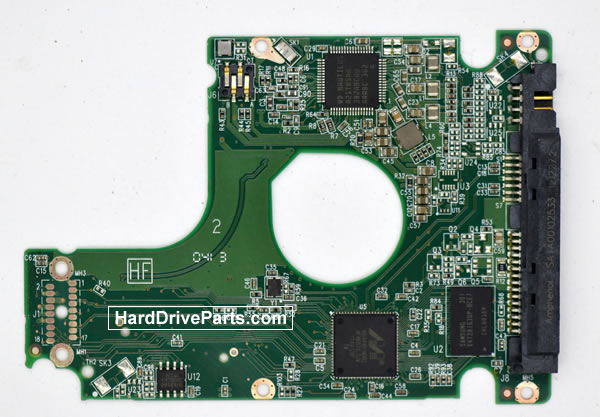 WesternDigital製HDDの回路基板2060-771931-000