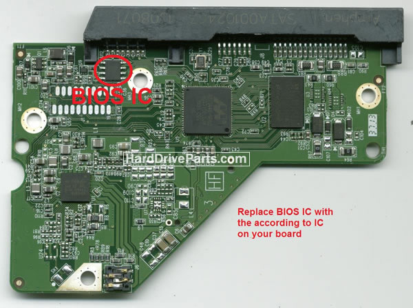 Western Digital PCB Board 2060-771945-001 REV P1 / A