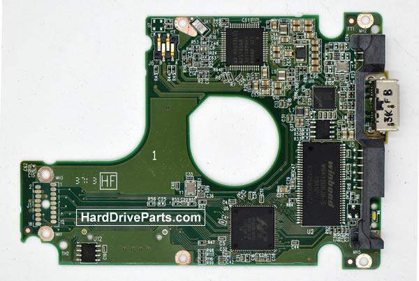 WesternDigital製HDDの回路基板2060-771962-002