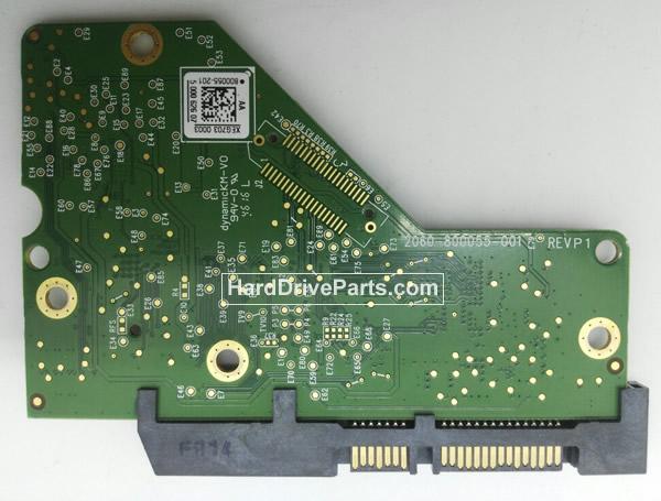 2060-800055-001 Western Digital PCB Circuit Board HDD Logic Controller Board