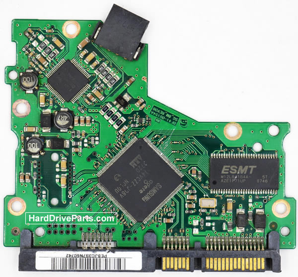 Samsung HD082HJ Hard Drive PCB BF41-00154A