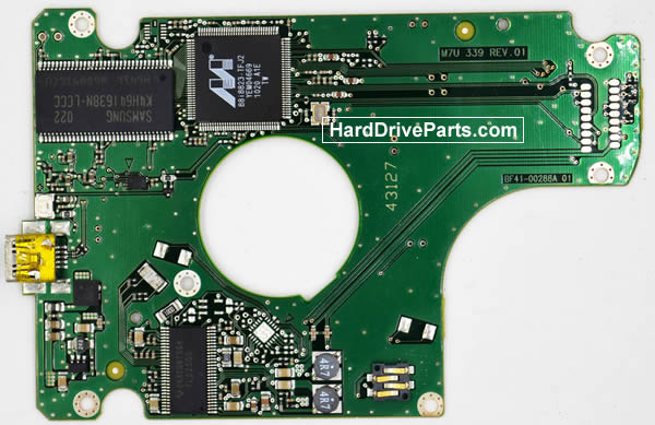 Samsung HM502JX Hard Drive PCB BF41-00288A