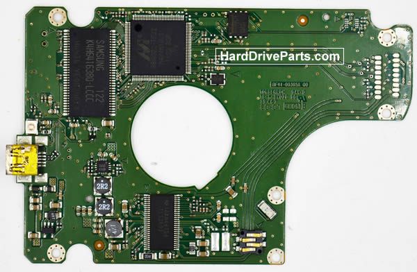 Samsung HN-M500XBB Hard Drive PCB BF41-00365A
