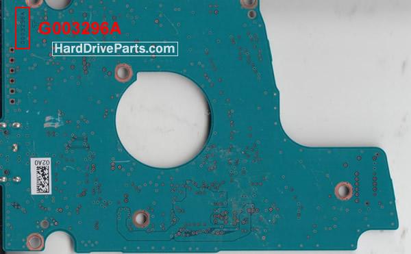 Toshiba PCB Board G003296A