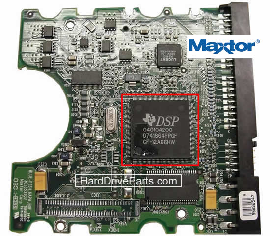 Maxtor Hard Dirve PCB Circuit Board