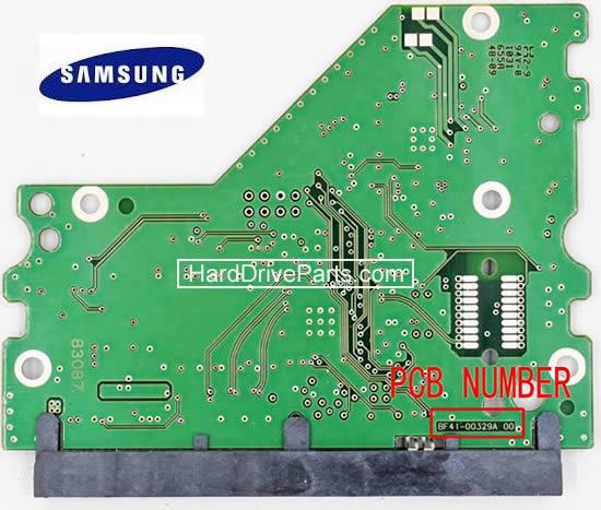 Samsung Hard Dirve PCB Circuit Board