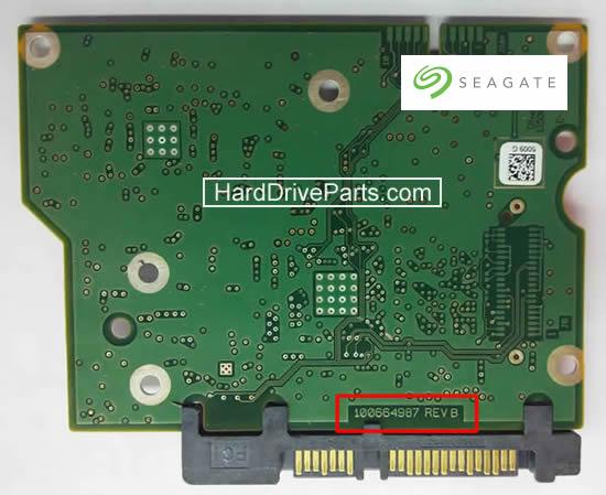 Seagate PCB Circuit Board