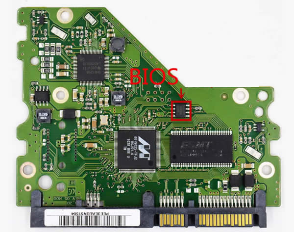 Samsung PCB BF41-00353A's BIOS chip