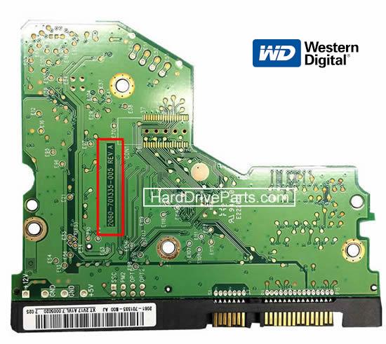 Western Digital PCB Circuit Board